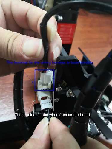 How to connect the wires correctly in Pinboard.