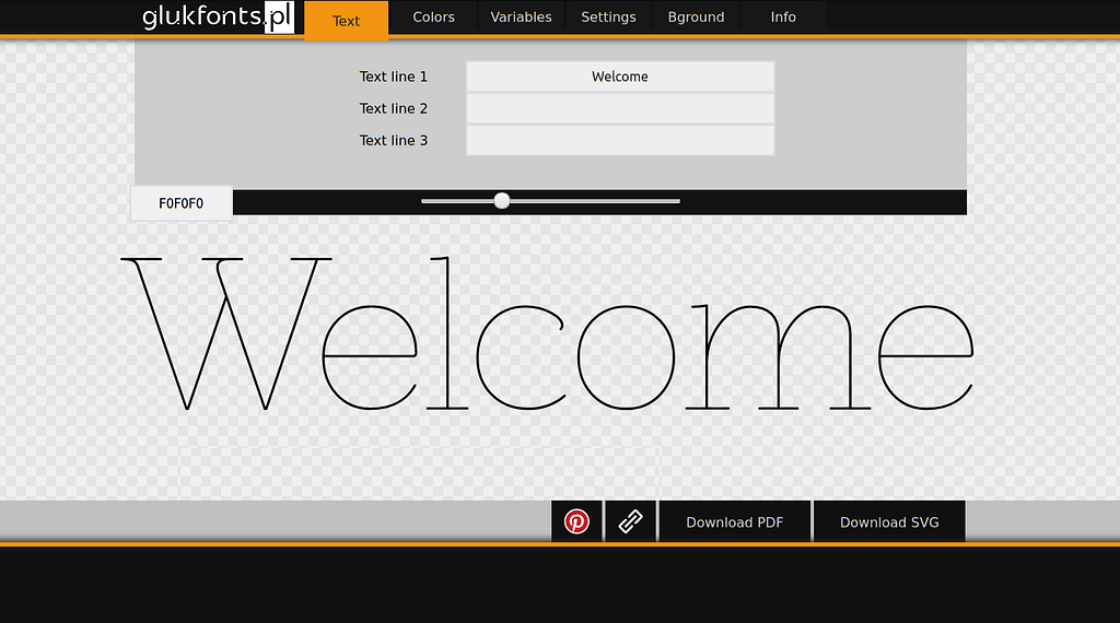 Line free fonts single CNC Vector
