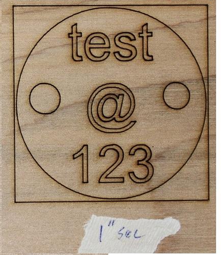 1in speed test