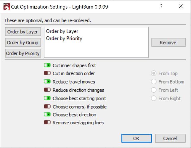lb optimization
