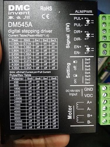 DM545A-motor-driver
