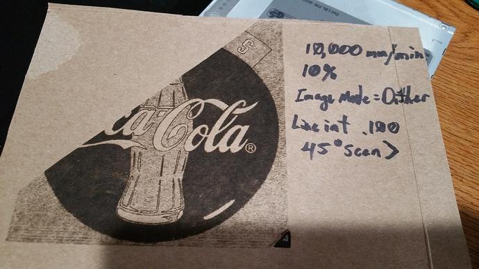 Coke03 Burn Results