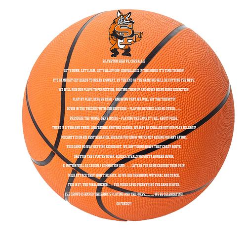 Basketball Trophy