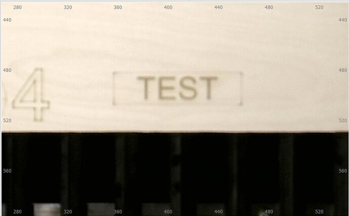 lightburn camera screen zoom