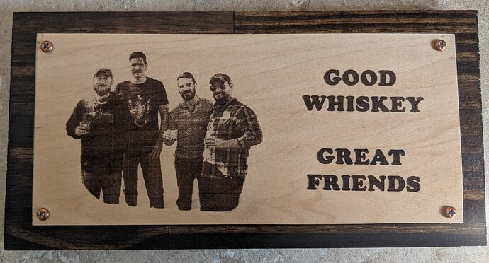 whiskey and friends