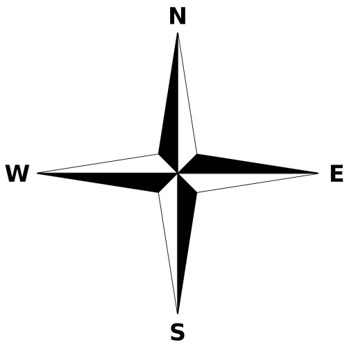 1024px-Simple_compass_rose