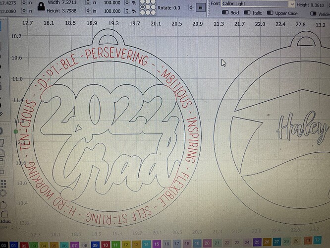 cut out dxf file