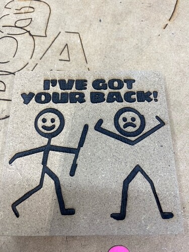 stick back