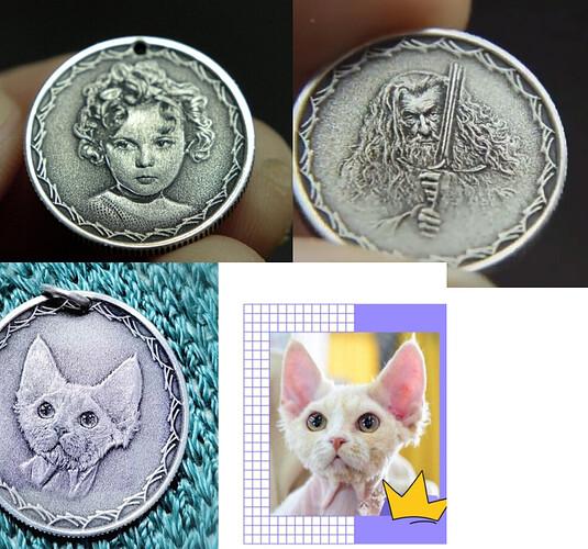 Engraving Coin