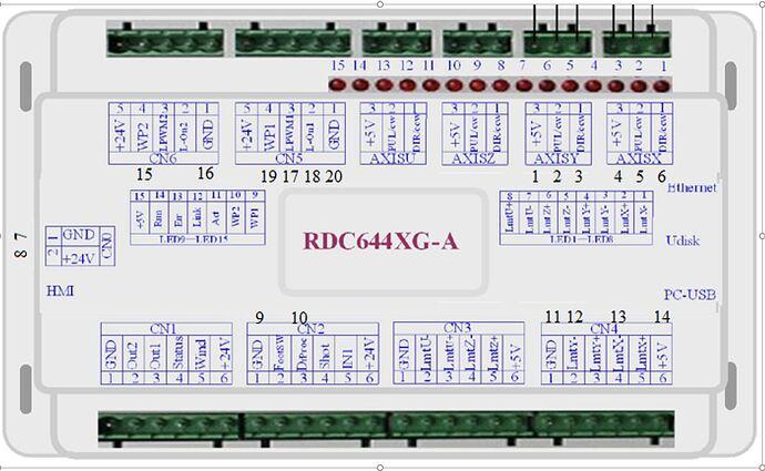 RDC6445 wiring