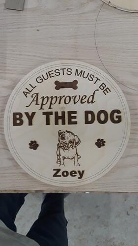 Doggie Plaque