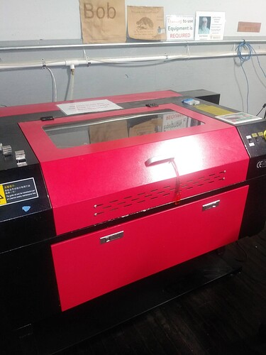 Red Laser Machine