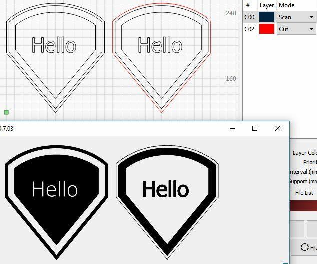 SVG Files fill letters - LightBurn Software - LightBurn