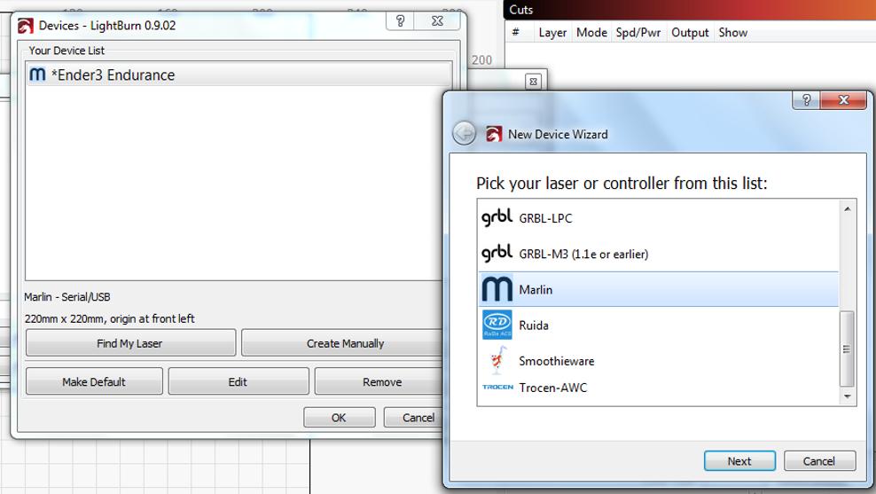 ender 3d printer software