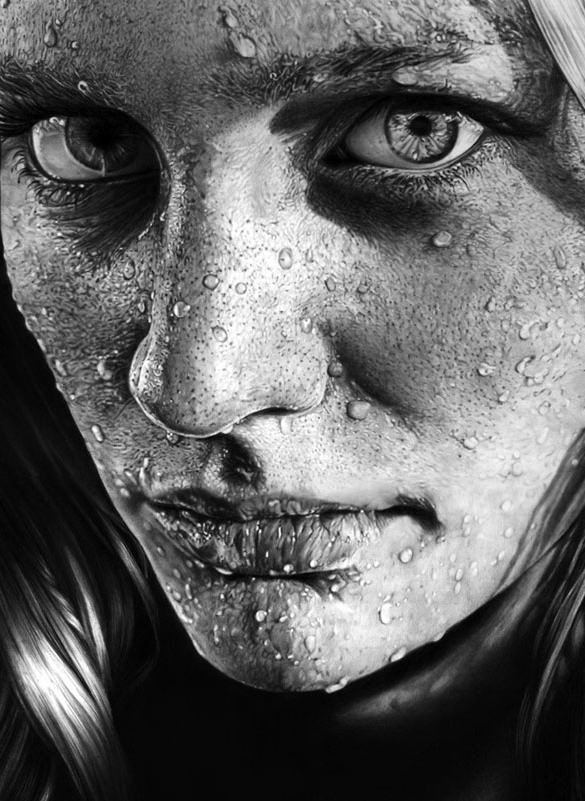 Download-Blob-on-Face-Realistic-Pencil-Drawings