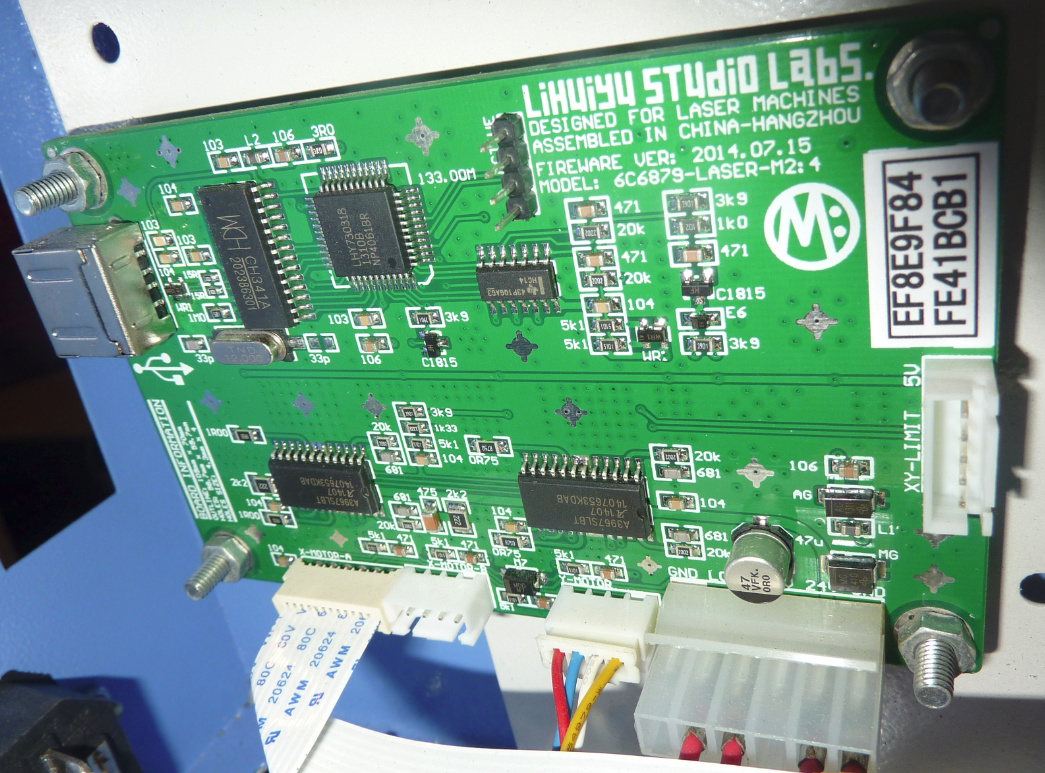 Recommendation for K40 controller card - Hardware