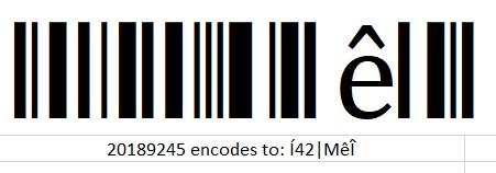 bad barcode